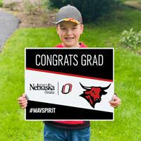 18 X 22 Congrats Grad Yard Sign