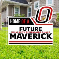 19 X 22 Home of a Future Maverick Yard Sign