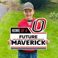 19 X 22 Home of a Future Maverick Yard Sign
