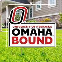 19 X 22 Omaha Bound Yard Sign