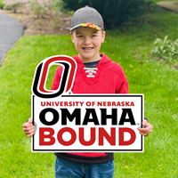 19 X 22 Omaha Bound Yard Sign