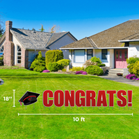 18 X 10 Congrats! Yard Sign