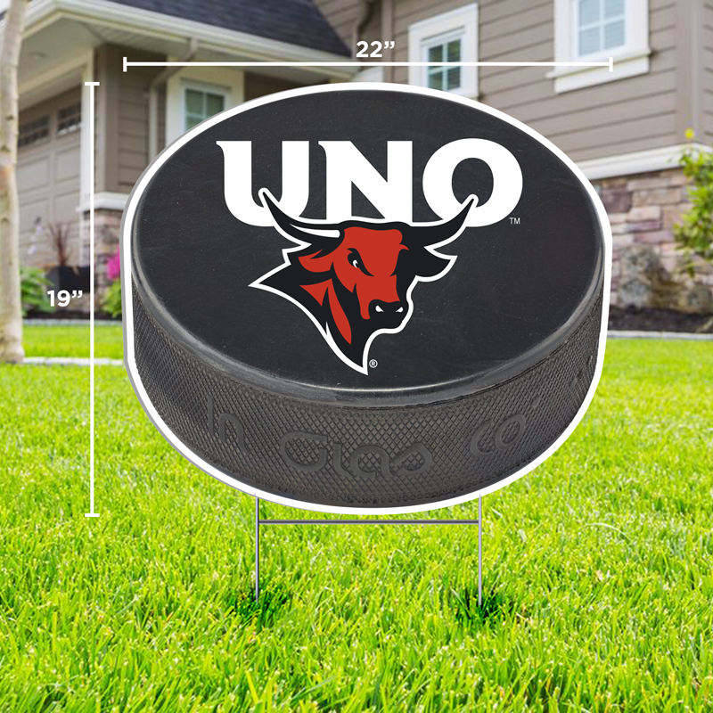 19 X 22 Hockey Puck Yard Sign (SKU 11385691208)
