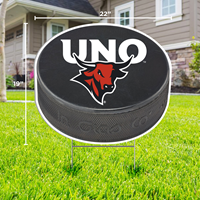 19 X 22 Hockey Puck Yard Sign