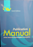 Apa Publication Manual Paperback 2Nd Printing