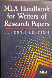 Mla Handbooks For Writers Of Research Papers (SKU 1049299422)